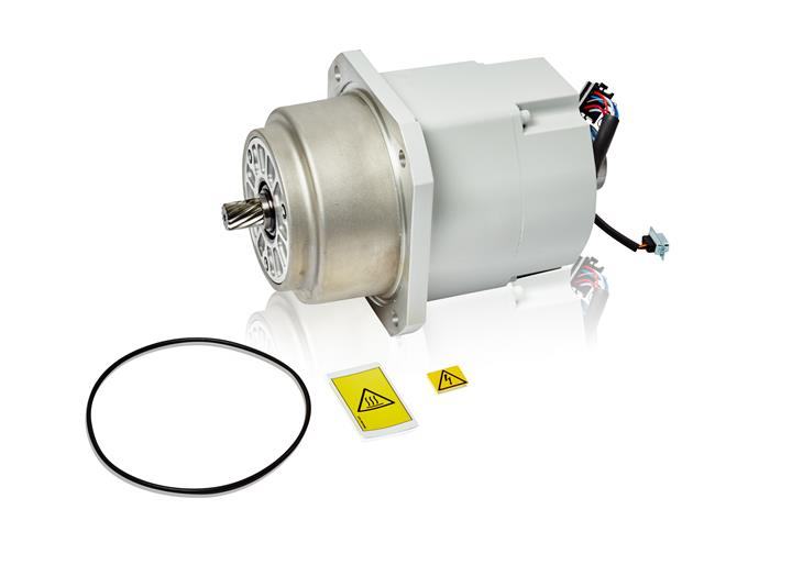 Abb motor with pinion for Robot motors and parts