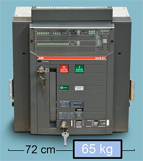 Air Circuit Breaker : Abb air circuit breaker sace e s a