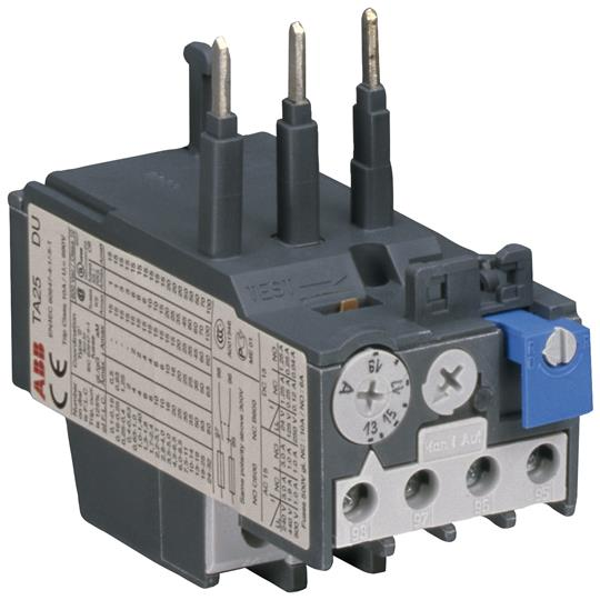 Abb ta25du for Abb motor protection relay catalogue