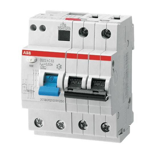 Residual Current Device : Abb ds m ac b