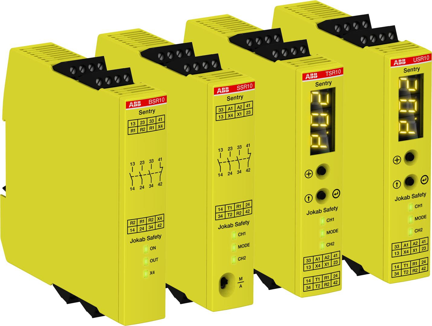 Safety Relays Products Abb Circuit Diagram Basic Low Voltage Latching Relay Driverhtml Are You Looking For Support Or Purchase Information